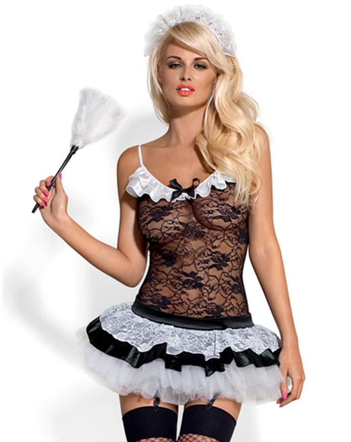 French Maid Kostuum Hotstuff
