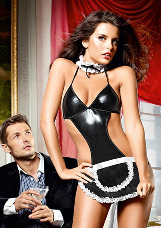 Hotstuff French Maid Kostuum