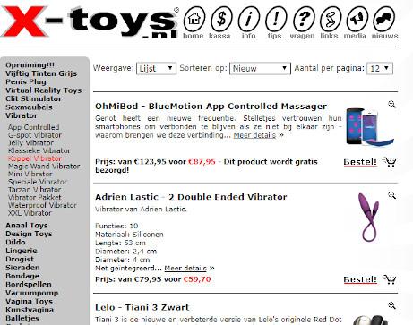 Sexshop X-Toys